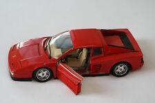 Ferrari Testarossa (1984) Bburago -1:18 Red