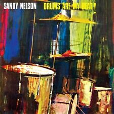 CD SANDY NELSON DRUMS ARE MY BEAT DRUM ROLL MY BLUE HEAVEN TWISTED CARAVAN ETC