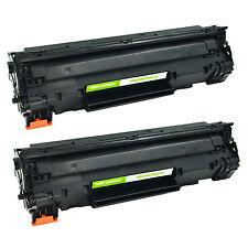 2 PK CB435A 35A Black Toner Cartridge For HP Laserjet P1005 P1006 P1003 Printer