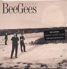 ★☆★ CD Single BEE GEES Alone 2-track CARD SLEEVE - USA - NEUF - NEW  ★☆★