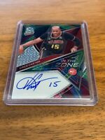 2019-20 PANINI SPECTRA VINCE CARTER META AUTO IN THE ZONE ATLANTA HAWKS ~#IZ-VCT
