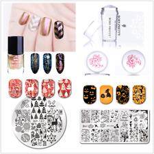 Born Pretty 6ml Nail Art Stamping Polish Plates+Stamper+Scraper Manicure Set