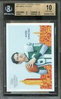 2009 topps national chicle #52 MARK SANCHEZ jets rookie card (PRISTINE) BGS 10