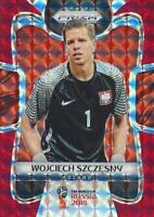 2018 Panini Prizm World Cup Russia '18 Poland Red Mosaic Parallel (#146 - #153)