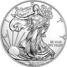 2017 Silver American Eagle BU