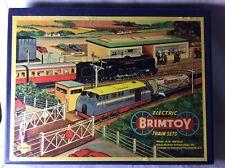 Vintage Wells/brimtoy No.355 Passenger Electric Train Set Mib
