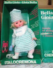 ITALOCREMONA bambola doll poupée muñeca BELLA GIOIA anni '70 VINTAGE