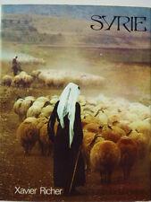 SYRIE Xavier Richer EO janvier 1975 Le pays tel qu'il n'est plus