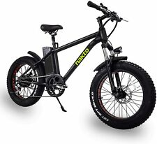 NAKTO 300W Electric Bike Fat Tire Mountain Ebike 20