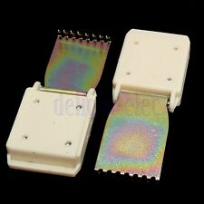 2Pcs Herramienta De Accesorios Pesos Colgador de garra para la mayoría de las máquinas de tejer