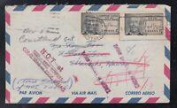 Canada 1967 RETURNED Airmail Cover WINDSOR to WAIKIKI HAWAII USA