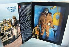 """GI JOE 1996 TUSKEGEE FIGHTER PILOT, 12"""" AA Action Figure MIB"""