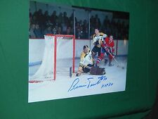 Boston Bruins Bernie Parent Autographed 8x10 Photo