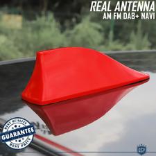 Antenna PINNA DI SQUALO Rossa PER Alfa Romeo GIULIA-STELVIO |Ricezione AM-FM-DAB