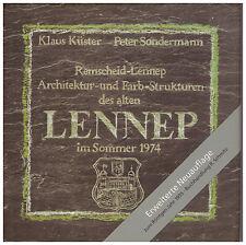 Architektur- und Farb-Strukturen des alten Lennep Klaus Küster Peter Sondermann