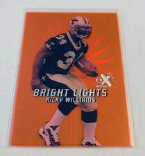 B7,400 - 1999 E-X Century Bright Lights Orange #16BL Ricky Williams Rookie