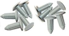 Roof Head Lining Fir Tree Trim Clips Light Grey - Pack of 10 - Defender MWC9832L