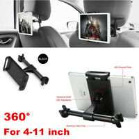 """Worthown Car Headrest Mount Holder Backseat Universal for 5"""" to 14"""" iPad//Tablet"""