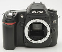 Nikon D80 D-80 D 80 Gehäuse Body DSLR Kamera