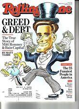 Rolling Stone September 12, 2012 - Greed & Debt