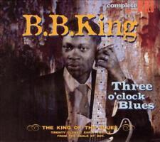 B.B. KING - THREE O'CLOCK BLUES [DIGIPAK] NEW CD