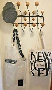 Hang it All RACK Eames Herman Miller Authentic?   Wood / Black. USA SELLER READ: