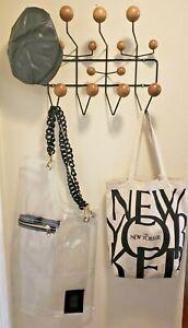 Hang it All RACK Eames Herman Miller Authentic?   Wood / Black. USA SELLER READ: