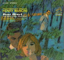 "HENRY MANCINI ""DEAR HEART & OTHER SONGS"" 60'S LP"
