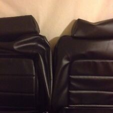 Monaro HQ Gts Coupe Seat Covers black Long Grain,Front And Rear