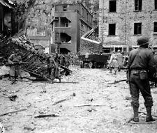 WWII B&W Photo German POW's France D-Day WW2 World War Two Normandy  / 2016
