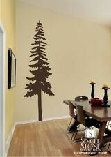 Wall Vinyl Art Decal Sticker - Perfect Tall Pine Tree