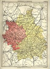 Encyclopedia Britannica 9th - 1876- Map - Cambridge