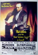 Phil Collins Concert Tour Poster 1990 Genesis