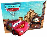 Mega Bloks 50671 Breakthrough 3D Cars Race Puzzle Disney Pixar Lightning & Mater
