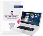 2x iLLumiShield Screen Protector Anti-Bubble for Acer Chromebook 15 (2016)