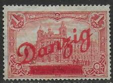 Danzig stamps 1920 MI 48 MLH F/VF Scarce stamp!