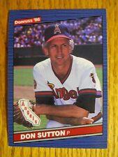 1986 DONRUSS CARD # 611 DON SUTTON