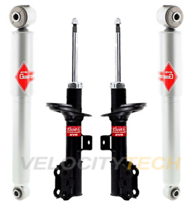 NEW Pair Set of 2 Front KYB Strut Mounts Kit For Hyundai Elantra Coupe Veloster
