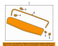 GMC GM OEM 16-17 Terrain EXTERIOR TRIM-HOOD-Molding Assembly 84026888
