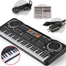 61 Keys digital music electronic keyboard piano organ microphone kids gift toyCN