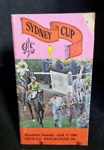 VINTAGE RACE BOOK - SYDNEY CUP- 12 APRIL 1980 - AUSTRALIAN JOCKEY CLUB