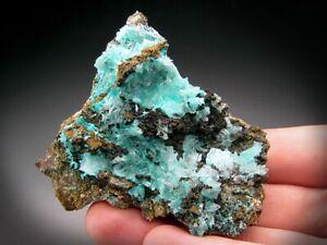 Aurichalcite and Calcite Crystals, Ojuela Mine, Mexico