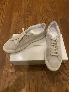 Common Projects Men's Retro Suede Low-Top Sneakers Grey size 41 MRSP $448