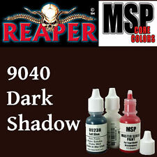 DARK SHADOW 9040 - MSP core15ml 1/2oz paint peinture figurine REAPER MINIATURE