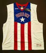 Rare And1 Puerto Rico Basketball Jersey Htf 3Xl Red White & Blue New w/ Tags!