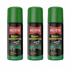 (75,78€/1l) BALLISTOL 3 Stück 50 ml Robla Kaltentfetter Spray Waffenpflege Entfe
