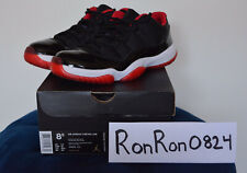 Nike Air Jordan 11 Retro Low Bred 2015 Size 8.5