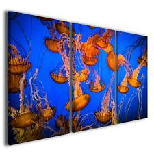 Quadri moderni astratti Medusa light colors II stampa tela canvas ® quality