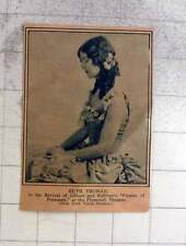 1927 Ruth Thomas In Pirates Of Penzance At Plymouth Theatre Us
