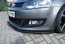 Spoilerschwert Frontspoilerlippe Cuplippe aus ABS für VW Polo 5 6R mit ABE